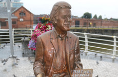 'Terry was a big strong rugby man not like this little chap' - Limerick's Wogan statue defaced