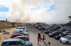Curracloe beach evacuated as firefighters tackle large-scale sand dune blaze