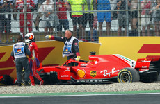 Vettel crash sees Hamilton retake championship lead at German Grand Prix