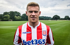 Stoke City complete four-year deal for Ireland international James McClean