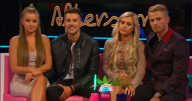 People are not happy with how Ellie and Charlie treated Georgia on Love Island Aftersun