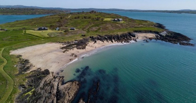 Wake up on your own private West Cork island - complete with helipad