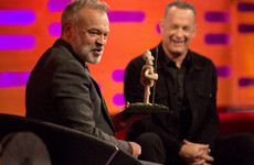 Graham Norton is hosting a table quiz that's offering a 4 course meal made by the local priest as a prize