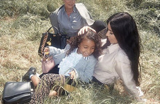 Kim Kardashian's defended her decision to straighten North's hair twice a year... it's The Dredge