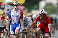 Frenchman Demare holds off sprint rival to claim 18th stage of Le Tour as finale looms