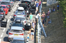 Motorists stuck in cars for hours after heat delays Channel Tunnel trains