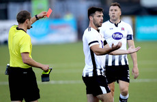 Entertaining first leg between Dundalk and AEK Larnaca leaves Europa League tie in the balance