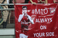 'So much love': Ozil thanks Arsenal fans after Germany racism row