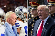 'Way to go Jerry': Trump applauds Cowboys owner's national anthem stance for NFL games