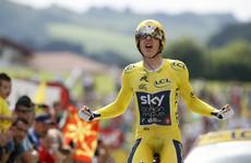Wales celebrates as Geraint Thomas secures Tour de France victory on penultimate stage