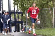 Tom Brady walks out of interview as trainer's role questioned