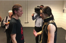 'You're living my dream': Classy Connor shares reverence for Taylor in champion's changing room