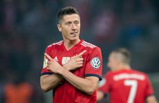 Bayern boss says Man United target Robert Lewandowski is going nowhere