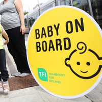 New 'Baby on Board' badges launched - for pregnant women on public transport