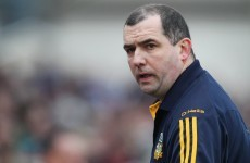 Royal rumble: Banty hanging on with Meath despite '24 hours to go' warning