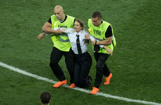 Pussy Riot members arrested again immediately after release for World Cup stunt