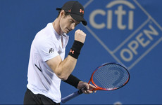 Emotional Andy Murray makes triumphant hardcourt return