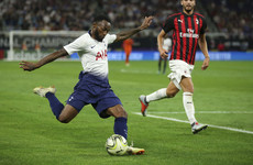 Tottenham earn victory over Milan thanks to N'Koudou strike