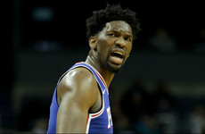Sixers star Embiid has his sights set on winning NBA MVP next season