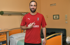 Higuain joins AC Milan as part of three-player swap deal with Juve