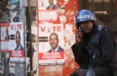Zimbabwe opposition leader lashes 'unverified fake results' as Zanu-PF claim victory
