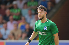 Talks 'ongoing' as Championship club bid to sign Richie Towell from Brighton