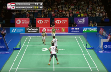 There was a two-minute, 117-shot rally at the Badminton World Championships today