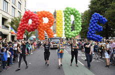 Calls for marriage equality as huge crowds gather in Belfast for this year's Pride event