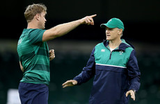 Schmidt and Heaslip visit Irish rugby's inaugural 'rookie camp'