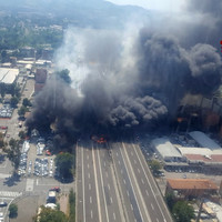 One dead and 60 injured after tanker truck explodes near Bologna
