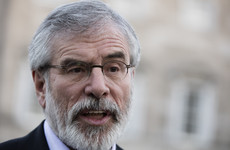 Gerry Adams is publishing a cookbook and it'll be out for Christmas