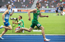 'I knew I had strength there and I used it': Thomas Barr finishes strong to power into European final