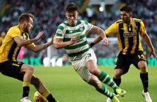 Celtic in trouble in Europe after costly home draw with 10-man AEK Athens