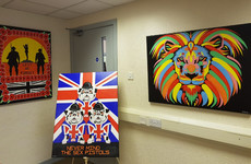 Loyalist murderer launches art exhibition while on temporary release - victims' relatives not impressed