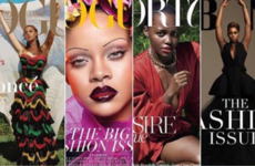 Here's the full rundown of the 10 black women adorning September fashion issues