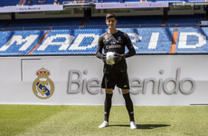 'I dreamt of this moment': Courtois says he has joined the best club in the world