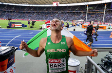 Brilliant Barr makes history as he wins European Championship bronze