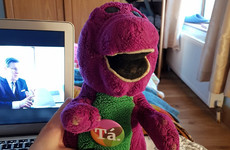 In defence of sleeping with a Barney teddy at the ripe old age of 23