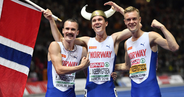 17-year-old Norwegian sensation wins men's 1500m title at European Championships