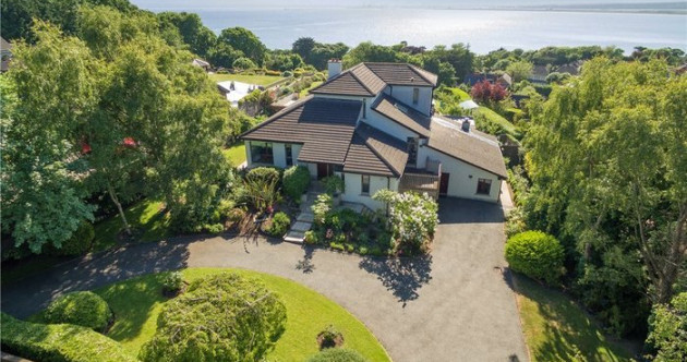 Cocktails on the terrace in this €1.65m villa with Dublin Bay views
