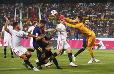 Dembele thumps Barcelona to Spanish Super Cup win against Sevilla