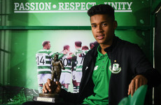 16-year-old Shamrock Rovers keeper scoops Player of the Month prize