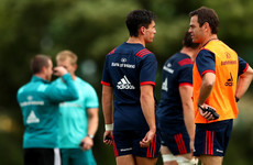 'It was totally his decision, I didn't need to convince Joey to join Munster'