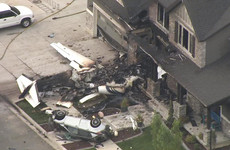 Utah man crashes plane into his own home after being arrested for assault of his wife