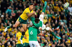 Folau won't alter aerial approach despite ban for challenge on O'Mahony