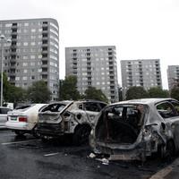 Masked vandals torch dozens of cars in Sweden in attack arranged on social media