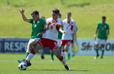 Ireland U17 international on the bench for Preston tonight