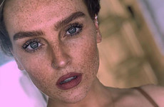 Perrie Edwards is being praised for showing off her freckles on Instagram