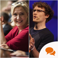 'Paddy Cosgrave was wrong to invite Le Pen - and wrong to use Northern Ireland in his justification'