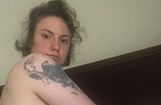 Lena Dunham shared intimate photos to mark the anniversary of her hysterectomy